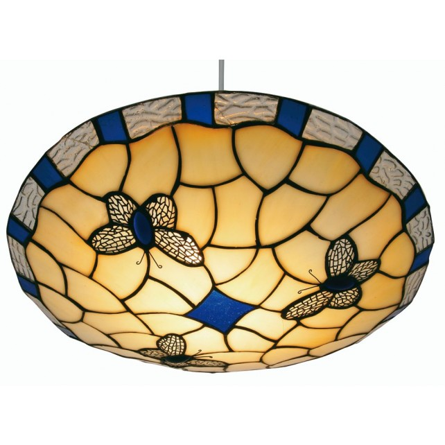 Oaks Lighting OT 1000 BL Butterfly Blue Easy Fit