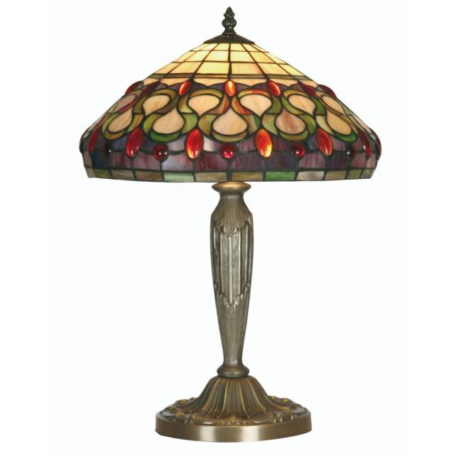 Oberon Tiffany Table Lamp - Large