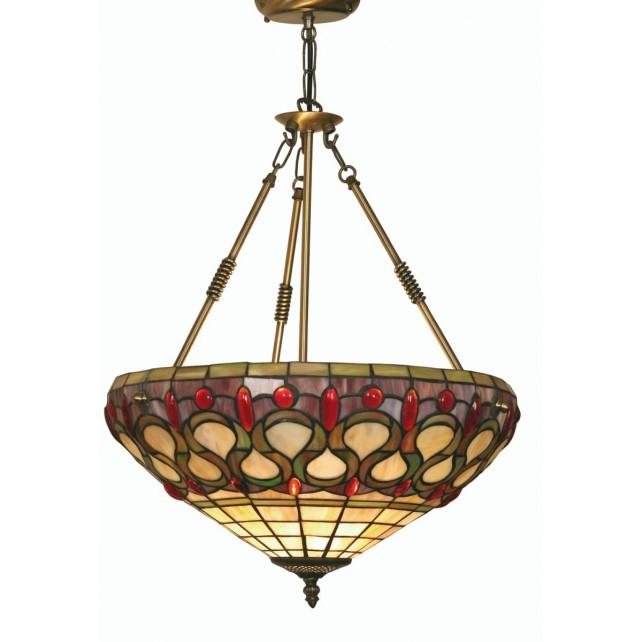 Oberon Tiffany Ceiling Light