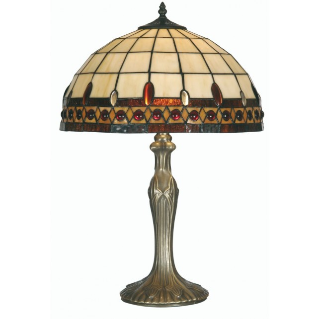 Flute Tiffany Table Lamp - Large