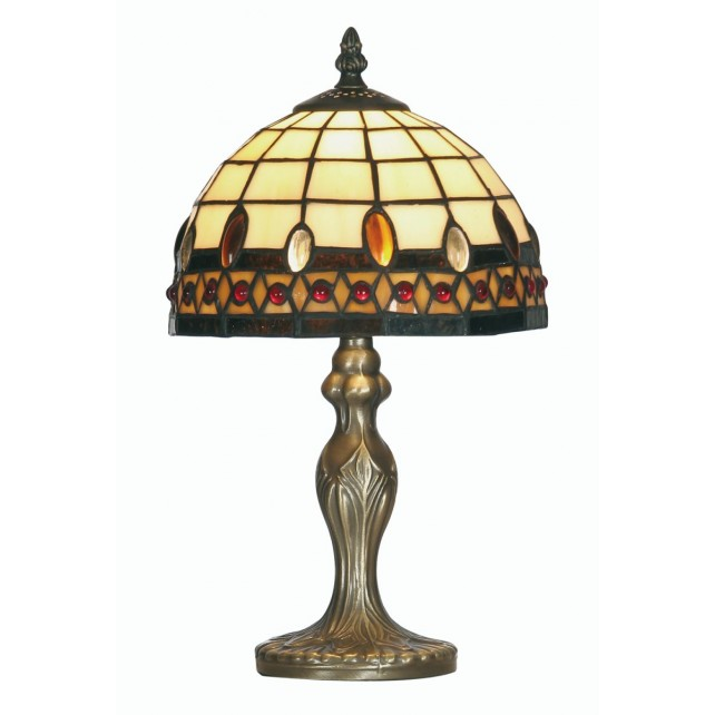 Flute Tiffany Table Lamp - Small