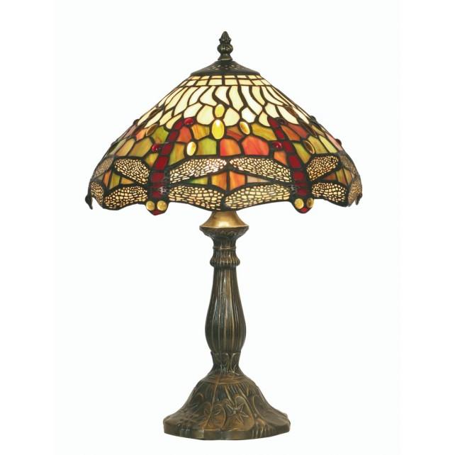 Dragonfly Tiffany Table Lamp - Medium