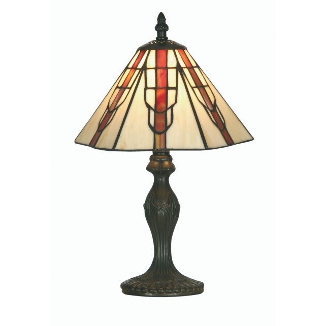 Viola Tiffany Table Lamp