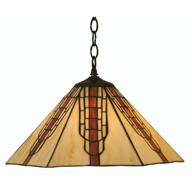 Viola Tiffany Ceiling Light - Pendant