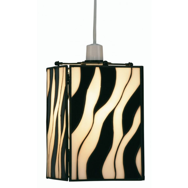 Zebra Tiffany Non Electrical Pendant