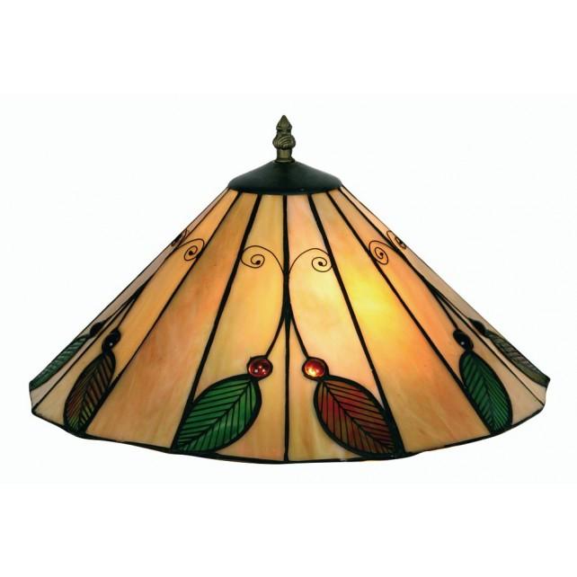 Oaks Lighting OT 3020/14 R Leaf Tiffany Uplighter