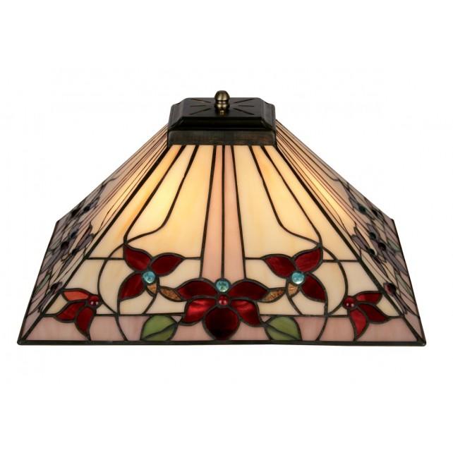 Camillo Tiffany Ceiling Light - Uplighter