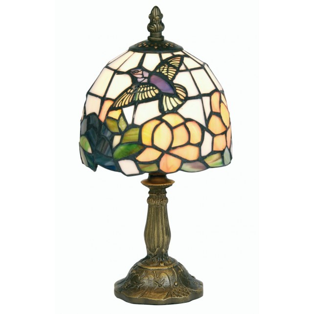 Tiffany Table Lamp - Humming Bird 6""