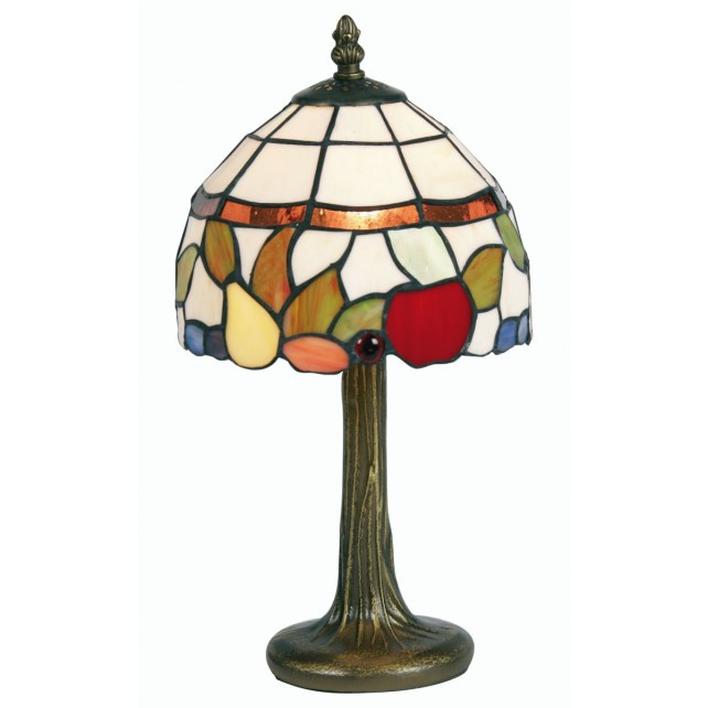 Tiffany Table Lamp - Fruit 8""