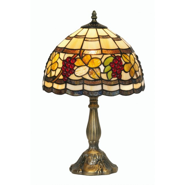 Grapes Tiffany Table Lamp - Large
