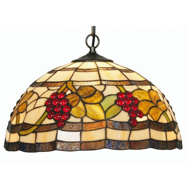 Grapes Tiffany Ceiling Light