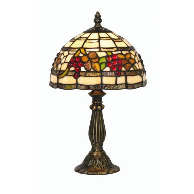 Grapes Tiffany Table Lamp - Small