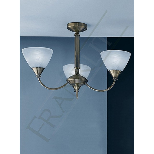 Franklite PE9663/786 Meridian 3 Light Fitting