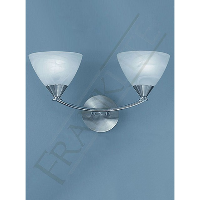 Franklite PE9672/786 Meridian 2 Light Wall Bracket