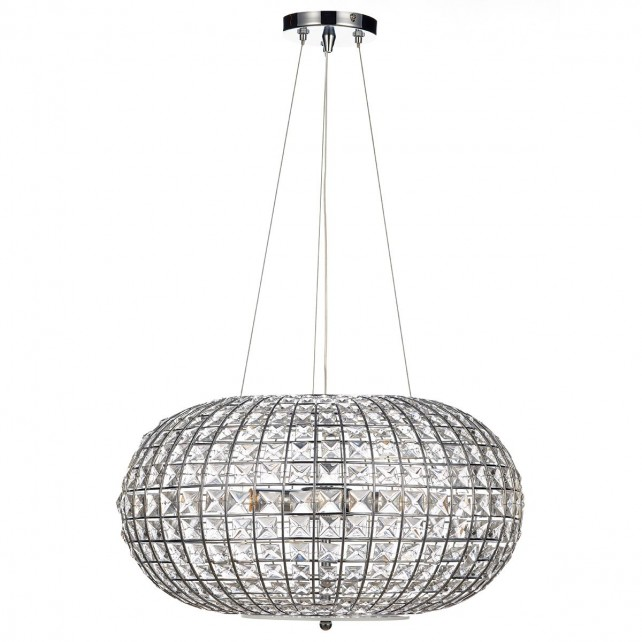 Plaza Ceiling Pendant Light - 3 Light, Polished Chrome