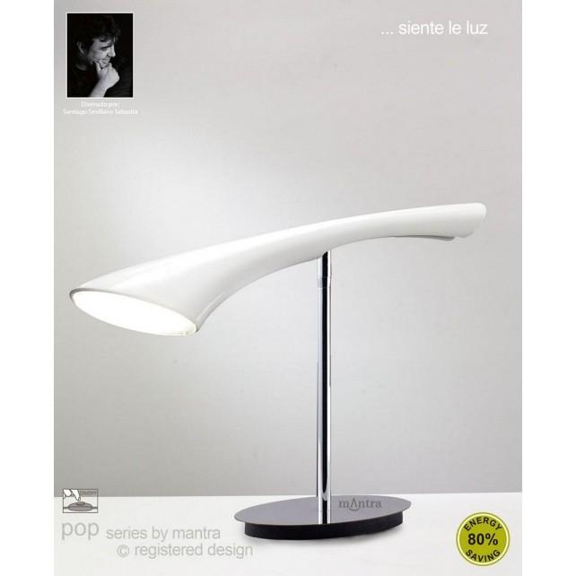 Pop Table 1 Light White