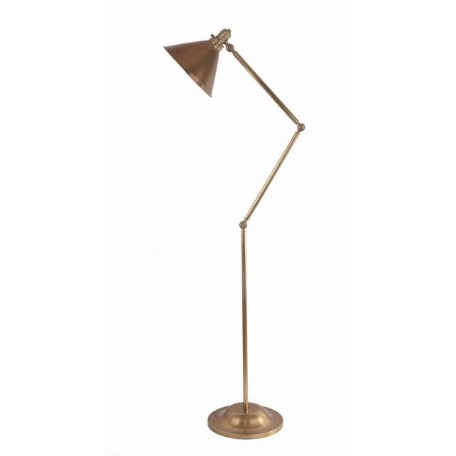 Elstead PV/FL AB Provence 1 - Light Floor Lamp Aged Brass
