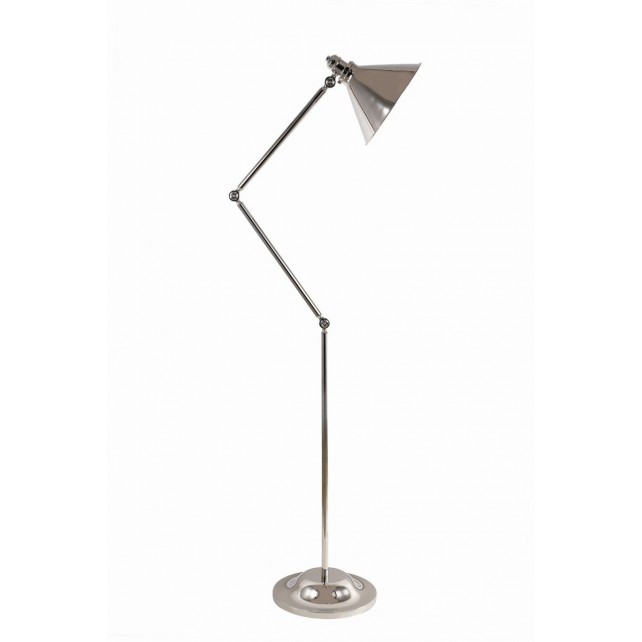 Elstead PV/FL PN Provence 1 - Light Floor Lamp Polished Nickel