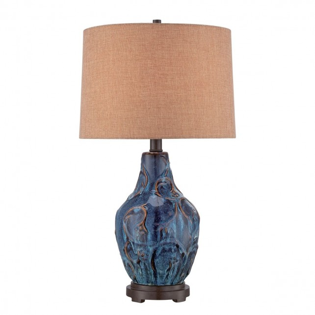 Quoizel QZ/BLUEFIELD Bluefield Table Lamp