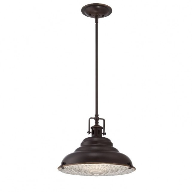 Quoizel QZ/EASTVALE/P/M East Vale 1 - Light Large Pendant