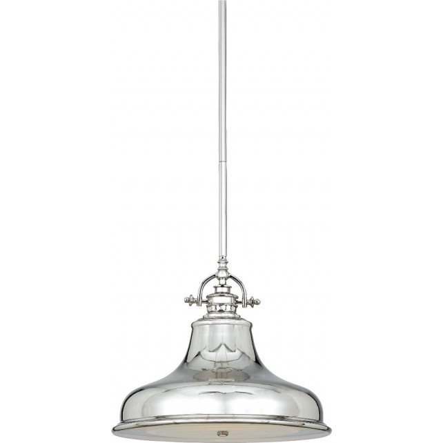 Quoizel QZ/EMERY/P/M IS Emery 1 - Light Medium Pendant Imperial Silver