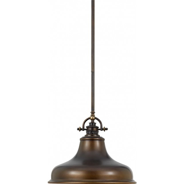 Quoizel QZ/EMERY/P/M PN Emery 1 - Light Medium Pendant Palladian Bronze
