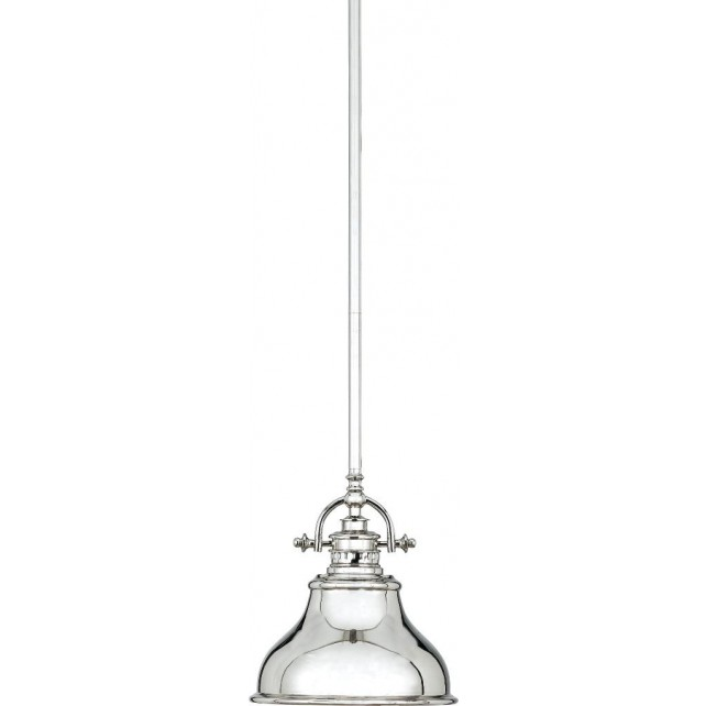 Quoizel QZ/EMERY/P/S IS Emery 1 - Light Mini Pendant Imperial Silver