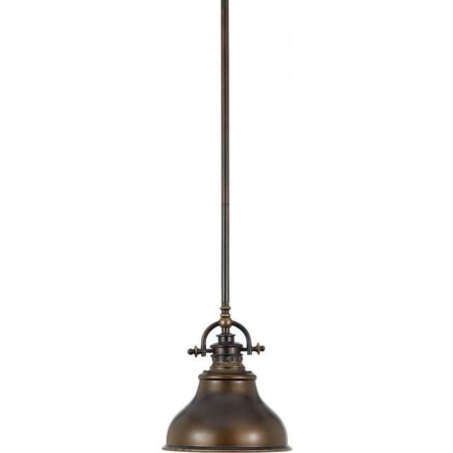 Quoizel QZ/EMERY/P/S PN Emery 1 - Light Mini Pendant Palladian Bronze