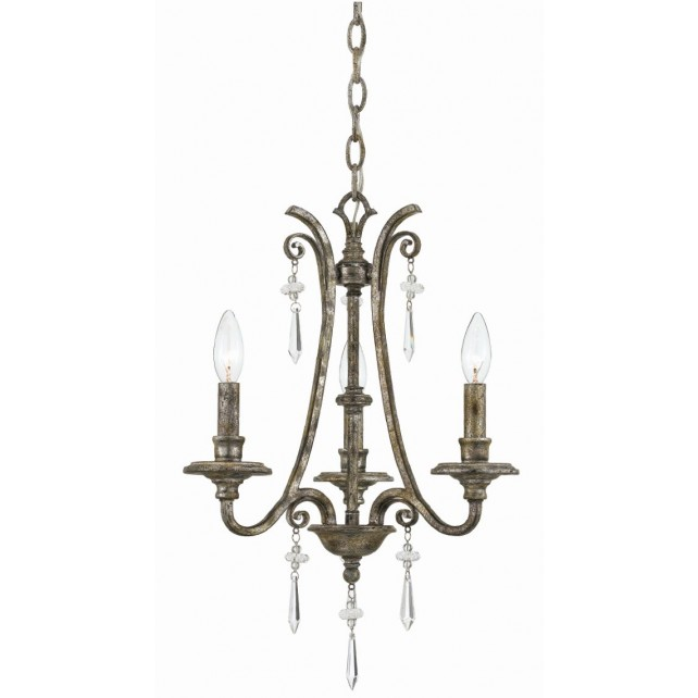 Quoizel QZ/KENDRA3 Kendra 3 - Light Chandelier
