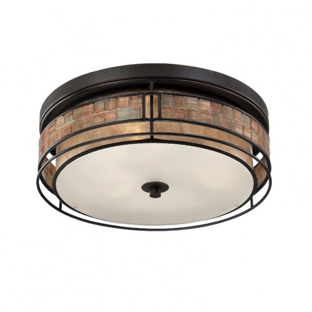 Quoizel QZ/LAGUNA/F/L Laguna 3 - Light Large Flush Mount