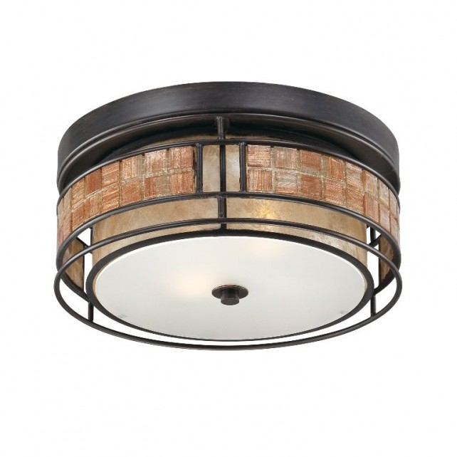 Quoizel QZ/LAGUNA/F/S Laguna 2 - Light Small Flush Mount