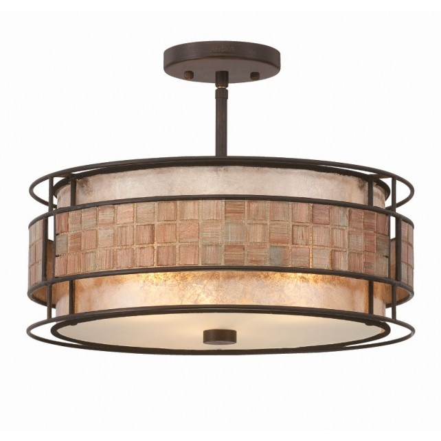 Quoizel QZ/LAGUNA/SF Laguna Semi-Flush Light
