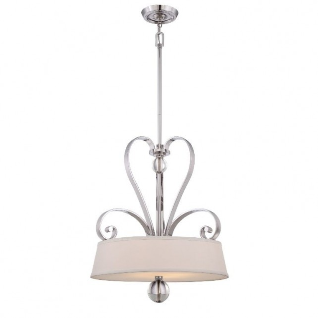 Quoizel QZ/MADISONM/P IS Madison Manor 4 - Light Pendant Imperial Silver