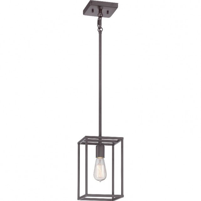 Quoizel QZ/NEWHARBOR/P New Harbor 1 - Light Mini Pendant