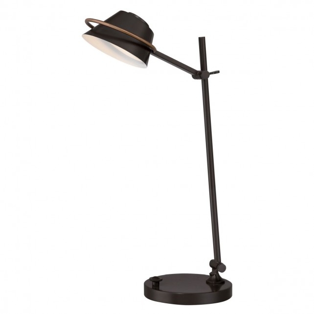 Quoizel QZ/SPENCER/TL WT Spencer Desk Lamp