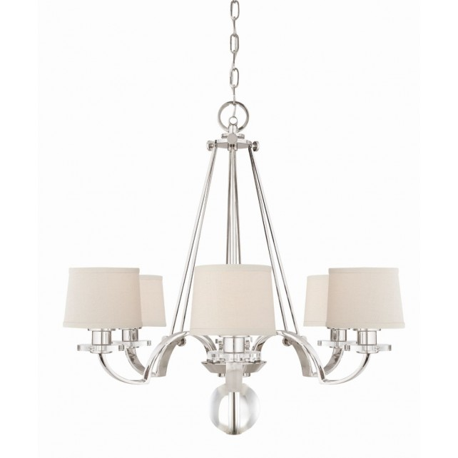 Quoizel QZ/SUTTON PL6 Uptownsp 6 - Light Chandelier