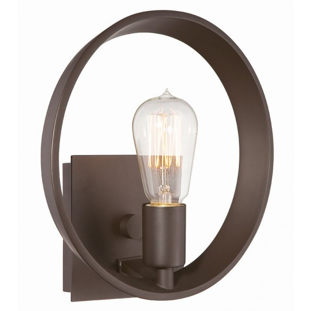 Quoizel QZ/THEATERROW1WT Uptowntr 1 - Light Wall Light