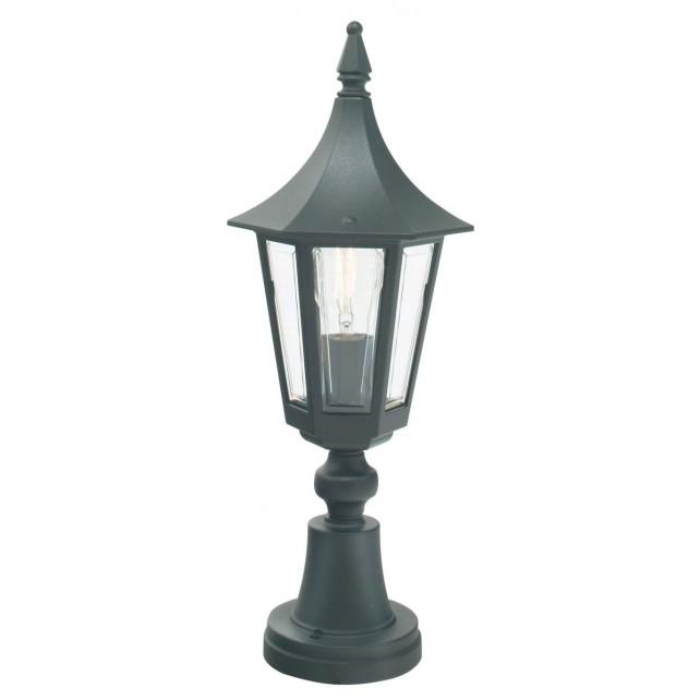 Norlys R3 BLACK Rimini Pedestal Lantern Black