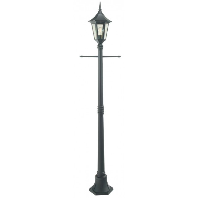 Norlys R5 BLACK Rimini Single Post Lantern Black