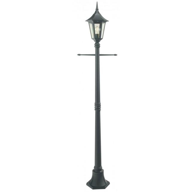 Norlys R5 BLACK Rimini Single Post Lantern Black