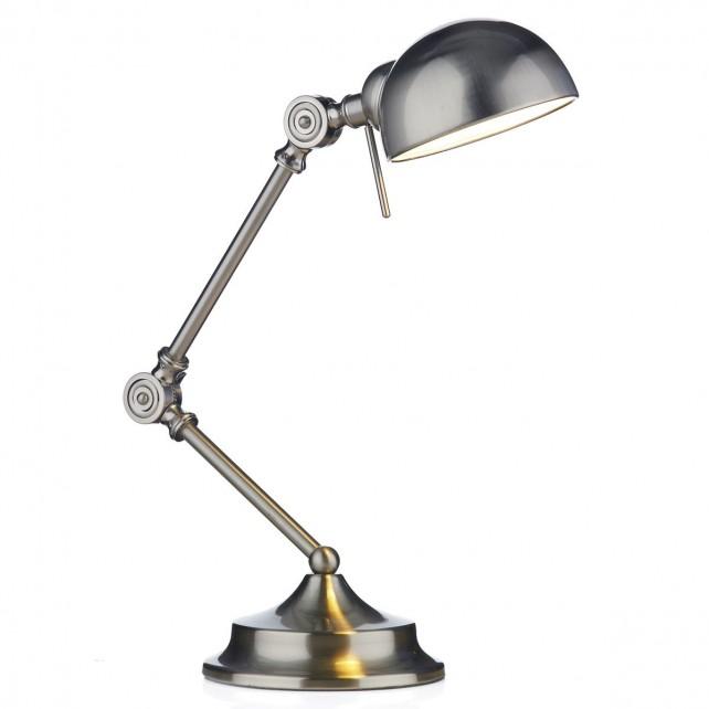 Ranger Table Lamp - satin chrome