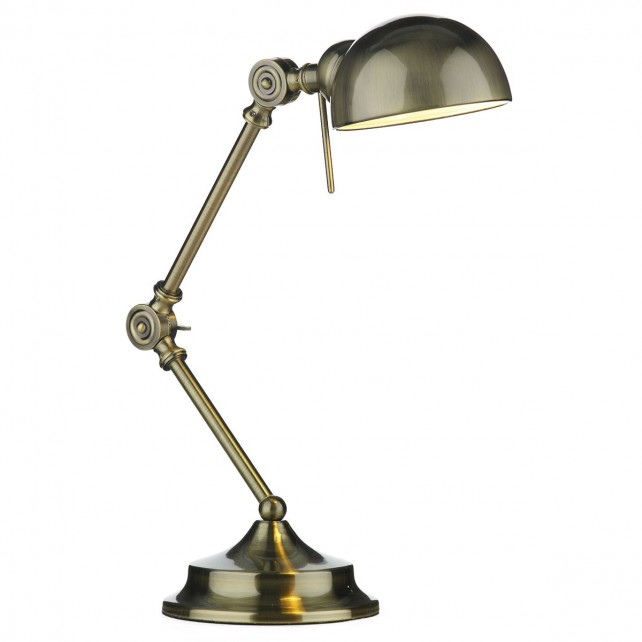 Ranger Table Lamp - antique brass
