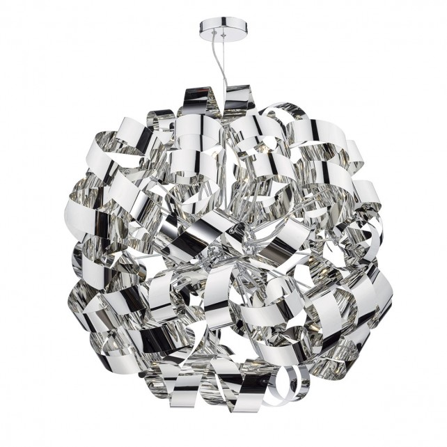 Rawley 12 Light Pendant Polished Chrome
