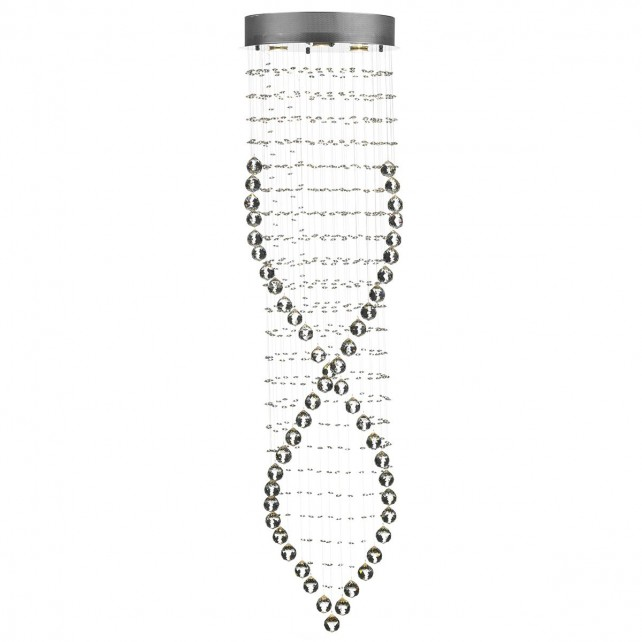 Rebecca 6 Light Crystal Pendant
