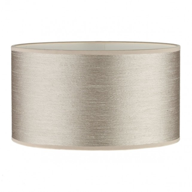 Tuscan Table Lamp String Shade Taupe