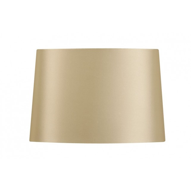 Oaks Lighting S414/12 CR Cream Satin Faux Silk Shade