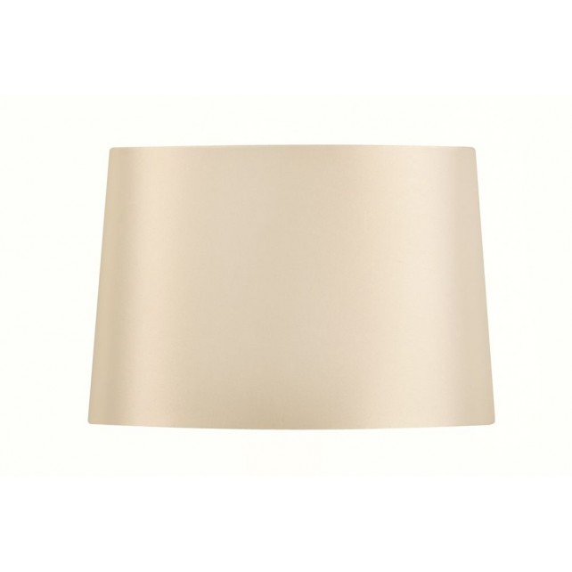 Oaks Lighting S414/10 WH White Satin Faux Silk Shade