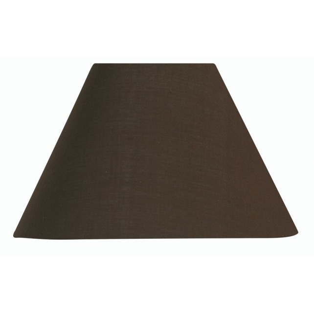 Oaks Lighting S501/8 CO Chocolate Cotton Coolie Shade