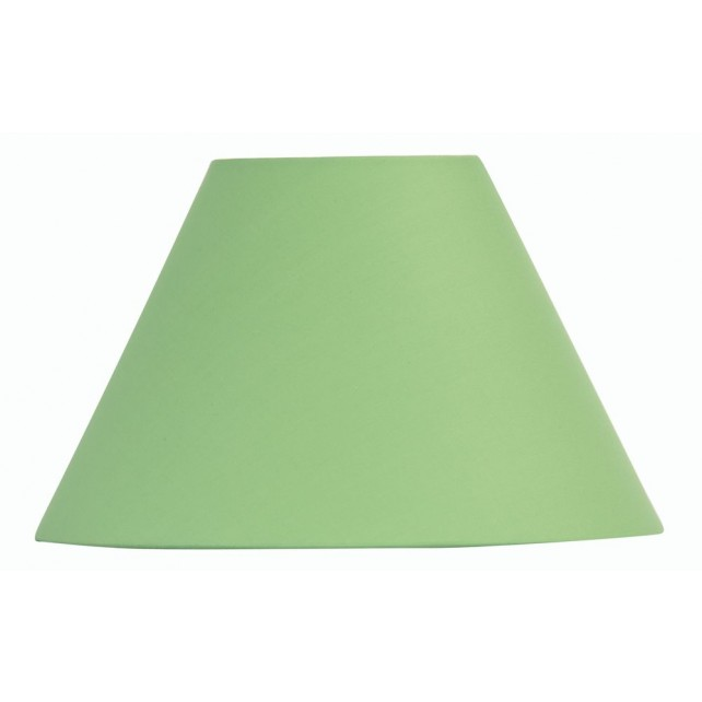 Oaks Lighting S501/10 GR Green Cotton Coolie Shade