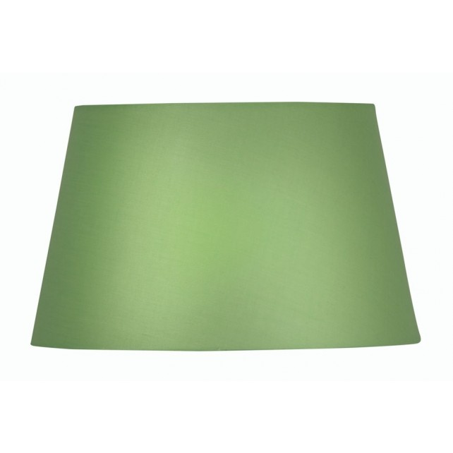 Oaks Lighting S901/12 GR Green Cotton Drum Shade